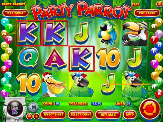 Party Parrot :: A winning three of a kind