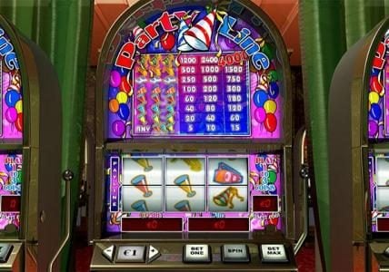 Play slots at Carnival: Carnival featuring the Video Slots Party Line with a maximum payout of $60,000
