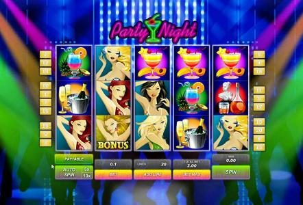 Play slots at 888 Casino: 888 Casino featuring the Video Slots Party Night with a maximum payout of $500