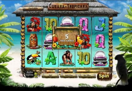 Casino Lucky Win featuring the Video Slots Party Night with a maximum payout of $500