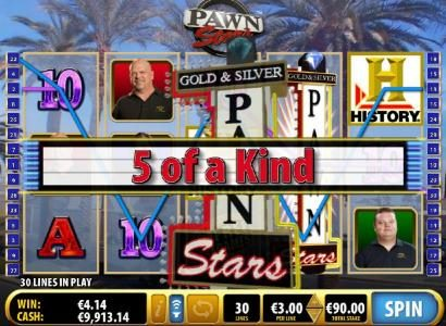 Karl Casino featuring the Video Slots Pawn Stars with a maximum payout of $276,000