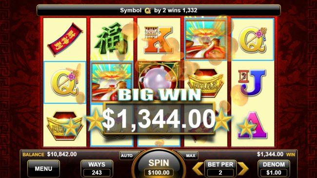 Pearl of the Dragon :: Big Win