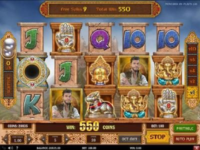 Play slots at Wildz Casino: Wildz Casino featuring the Video Slots Pearls of India with a maximum payout of $5,000,000