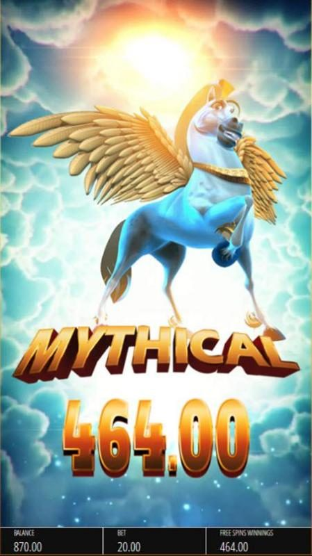 Karl Casino featuring the Video Slots Pegasus Rising with a maximum payout of $250,000