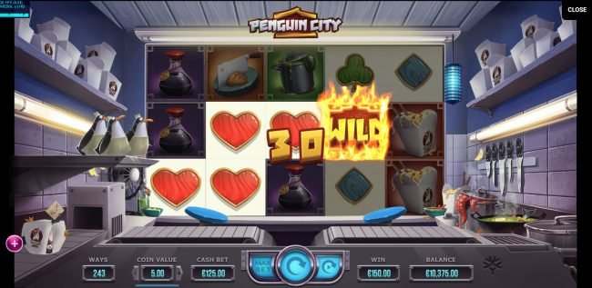 7Red featuring the Video Slots Penguin City with a maximum payout of $164,700