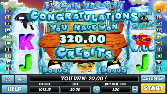 Total Bonus Payout