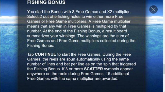 Fishing Bonus Game Rules