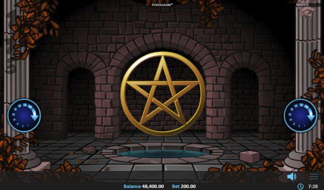 Pentagram :: Free Spins Game Board