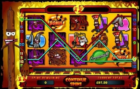 multiple winning paylines during free spins feature