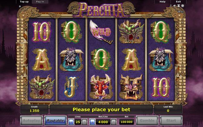 Perchta :: Main Game Board