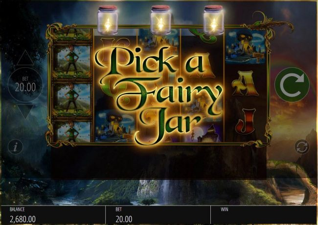 Dream Vegas featuring the Video Slots Peter Pan with a maximum payout of $12,500