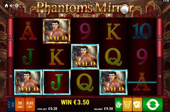 Phantom's Mirror :: Multiple winning paylines