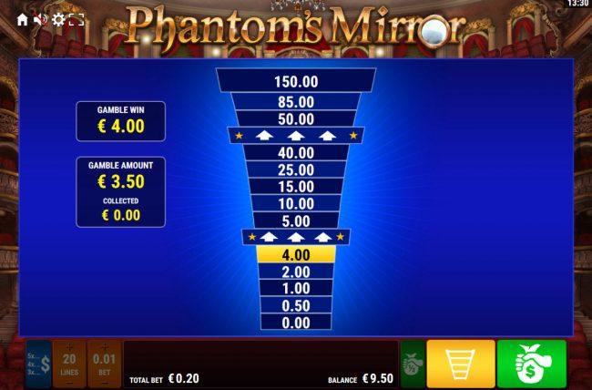 Phantom's Mirror :: Ladder Gamble Feature Game Board