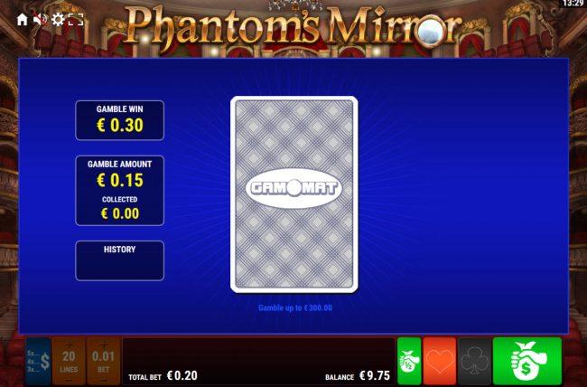 Phantom's Mirror :: Card Gamble Feature Game Board