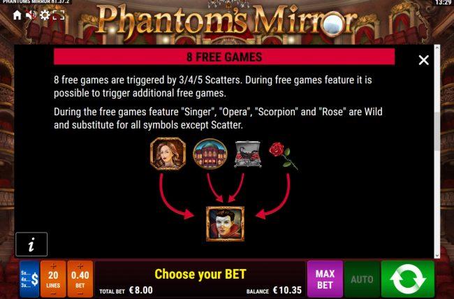 Phantom's Mirror :: Free Game Rules