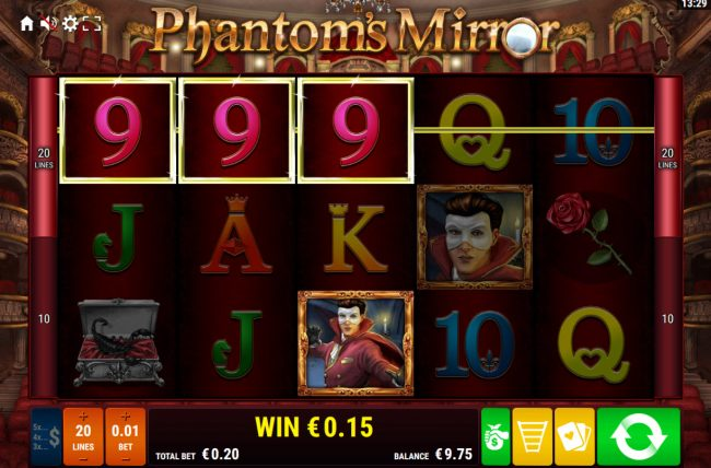 Phantom's Mirror :: A winning three of a kind