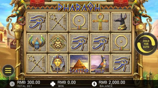 Pharaoh :: Main Game Board