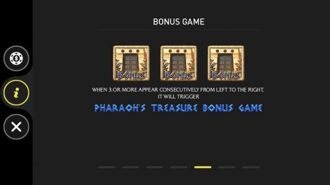Pharaoh :: Bonus Game Rules