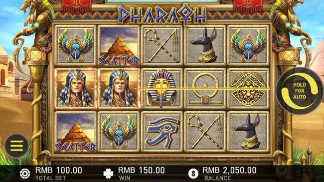 Pharaoh :: Multiple winning paylines