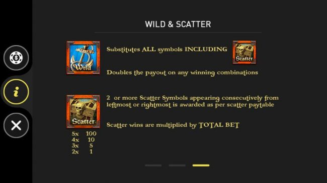 Pharaoh :: Wild and Scatter Symbols Rules and Pays