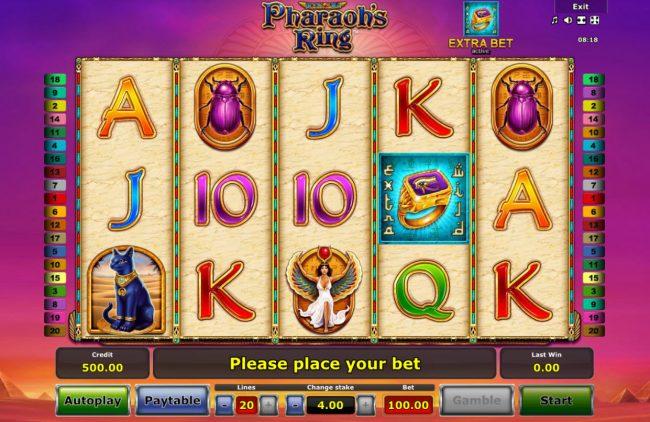Pharaoh's Ring :: Main Game Board