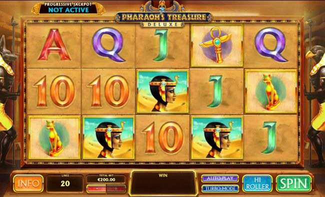 Pharaoh's Treasure Deluxe :: Main Game Board