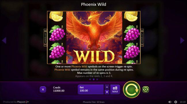 Phoenix Fire :: Wild Feature