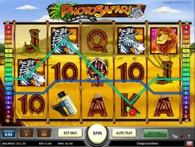 Spin Hill featuring the Video Slots Photo Safari with a maximum payout of $1,250
