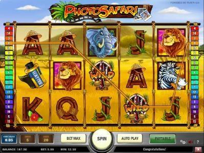 four of kind triggers a $12.50 jackpot