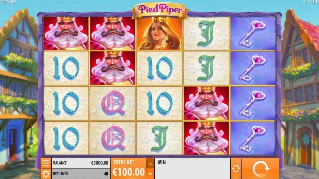 Wintingo featuring the Video Slots Pied Piper with a maximum payout of $150,000