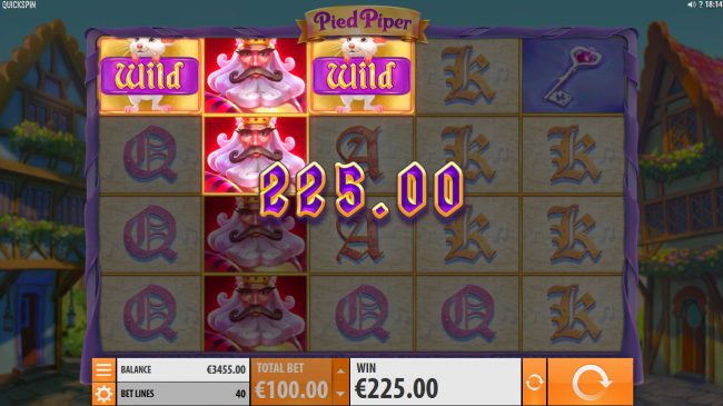 Amsterdam Casino featuring the Video Slots Pied Piper with a maximum payout of $150,000