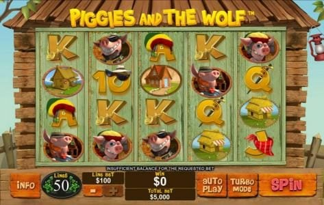 Play slots at Slots Heaven: Slots Heaven featuring the Video Slots Piggies and the Wolf with a maximum payout of $250,000