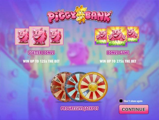 Play slots at 24 Bettle: 24 Bettle featuring the Video Slots Piggy Bank with a maximum payout of $150,000