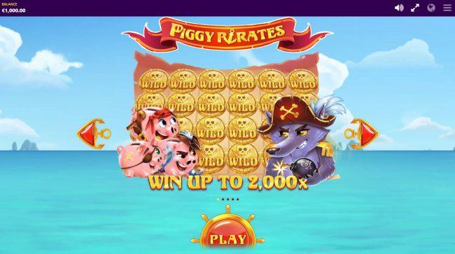 Piggy Pirates :: Win Up To 2,000x