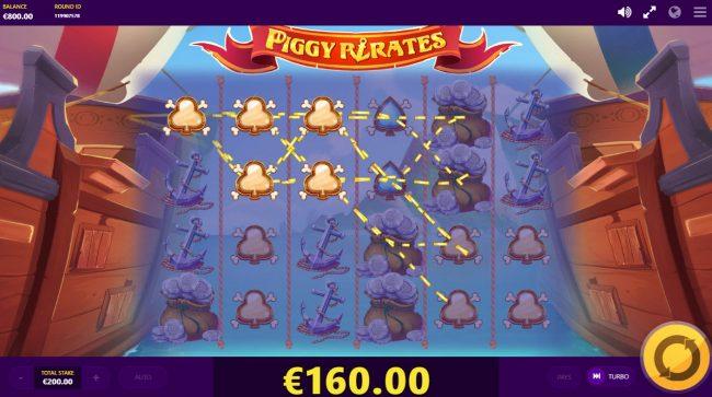 Piggy Pirates :: Multiple winning paylines