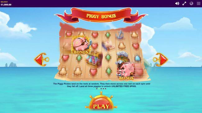 Piggy Pirates :: Bonus Game Rules