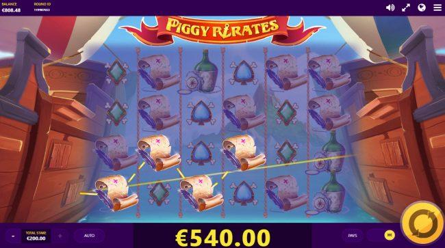 Piggy Pirates :: Four of a kind