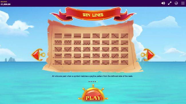 Piggy Pirates :: Paylines 1-40