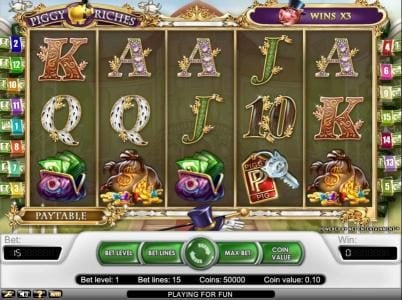 Play slots at Ego Casino: Ego Casino featuring the Video Slots Piggy Riches with a maximum payout of $30,000