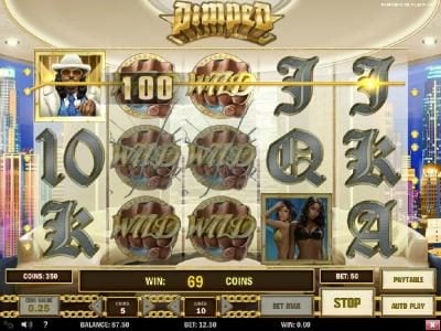 Casino Luck featuring the Video Slots Pimped with a maximum payout of 1,000,000x