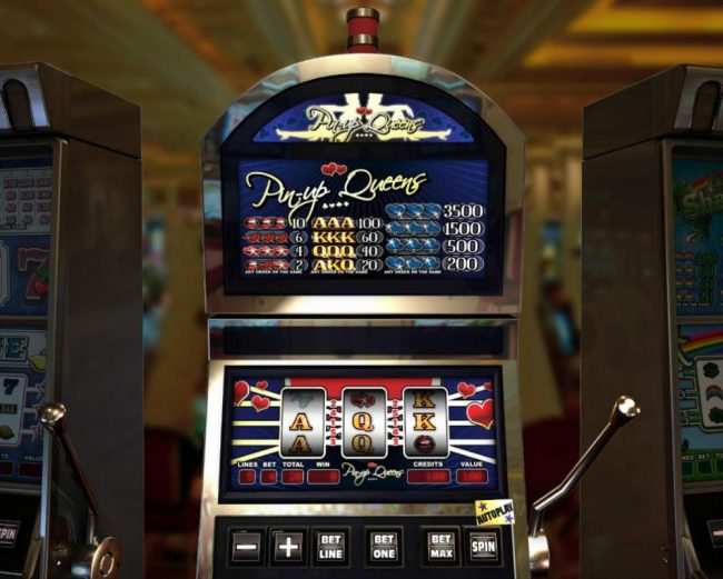 Elegant VIP featuring the Video Slots Pin-up Queens with a maximum payout of $3,500