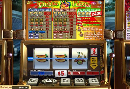 Play slots at Miami Club: Miami Club featuring the Video Slots Pinata Fiesta with a maximum payout of $24,000