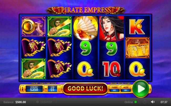 Pirate Empress :: Main Game Board