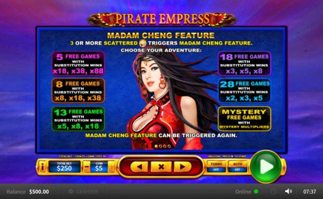 Pirate Empress :: Free Game Rules