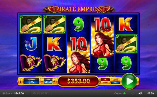 Pirate Empress :: Big Win
