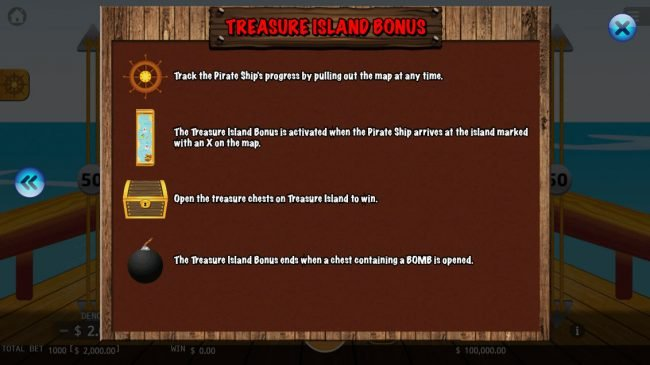 Pirate King :: Jackpot Wheel Bonus
