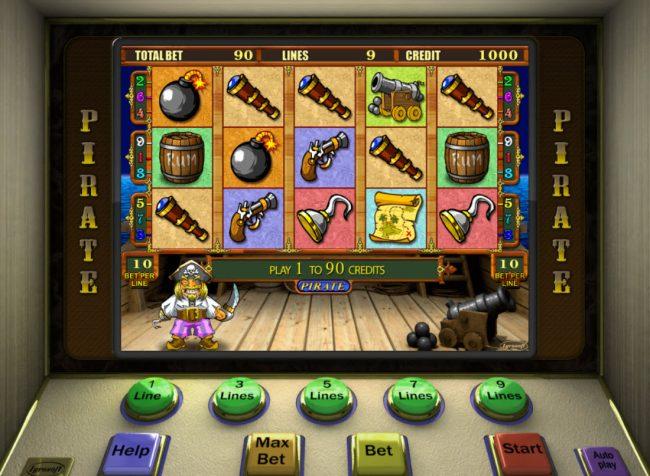 Pirate :: Main Game Board