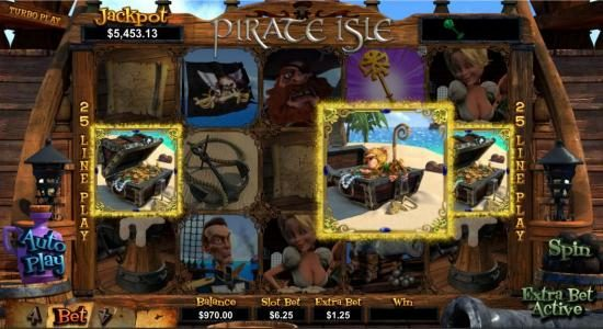 Casino Brango featuring the Video Slots Pirate Isle with a maximum payout of Jackpot