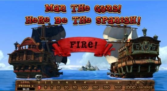 Palace of Chance featuring the Video Slots Pirate Isle with a maximum payout of Jackpot
