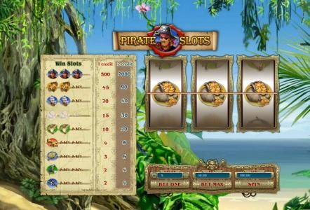 Lota Play featuring the Video Slots Pirate Slots with a maximum payout of $10,000